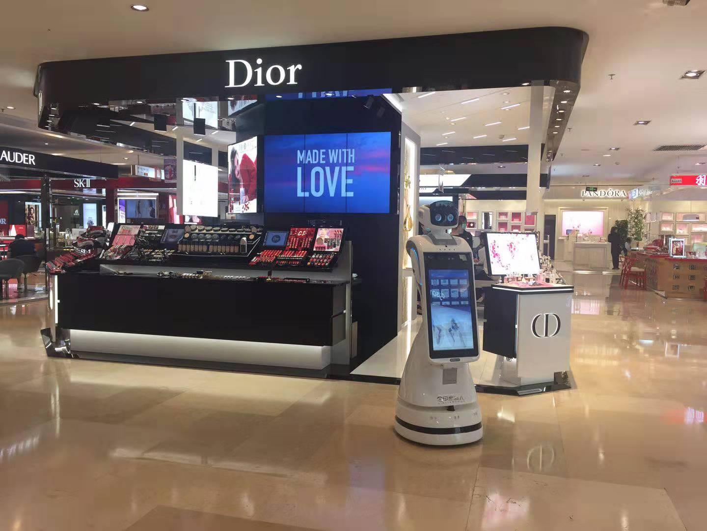 智能机器人商场导购机器人归入,导购机器人盒上,智能服务机器人粮草,智能迎宾机器人